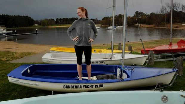 Canberra rower turned sailor Sarah Cook.