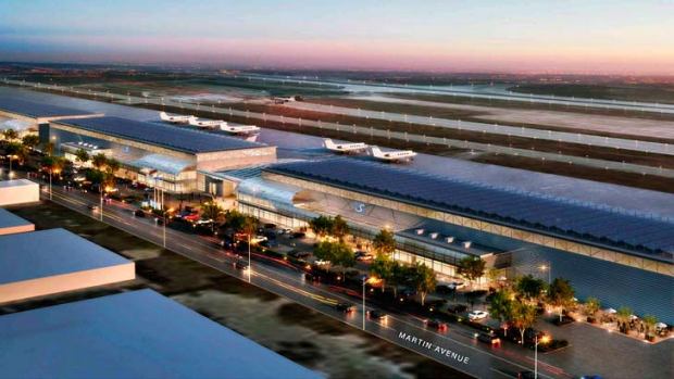 Mineta San Jose International Airport officials announced their plans to recommend the approval of an $US82 million ...