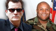 Charlie Sheen and Christopher Dorner