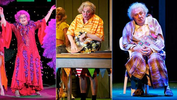 Dame Edna Everage, Sir Les Patterson, Sandy Stone and Barry Humphries all took their final bows in Perth on the weekend.