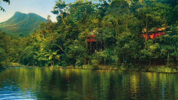 Go with the flow … take in river and rainforest views from Silky Oaks Lodge.