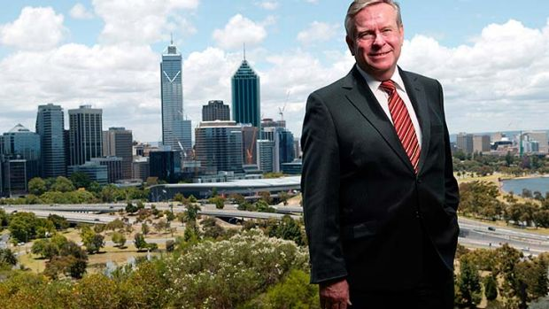 Colin Barnett - could it actually hurt his election chances that his staffers want him to look good rather than not ...
