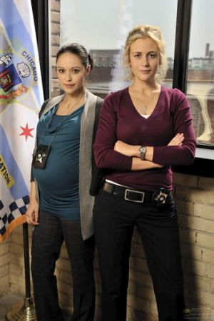 Marisa Ramirez and Rachel Carpani satr in <i>Against The Wall</i>.