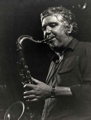 Burning saxophone ... Brian Brown favoured original compositions and produced his own take on American jazz.