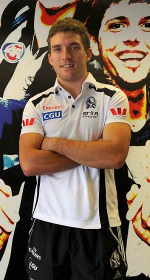 Collingwood's Clinton Young.