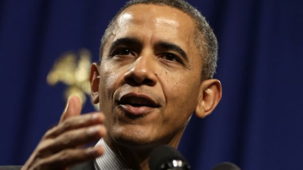 Nuclear attack ... US President Barack Obama is calling for cuts in US nuclear arsenal.