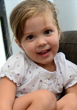 Manaia Tokotaua, age 3, of Gracemere, is lucky to be alive after nearly drowning in a pool at Zilzie on the weekend.