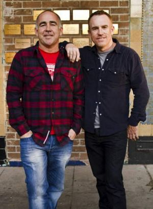 Rumours denied … Annandale Hotel owners Dan and Matt Rule.
