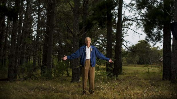 Yarralumla resident Dr Alan Cowan is part of a campaign hoping to stop the development of embassies in Stirling Park.