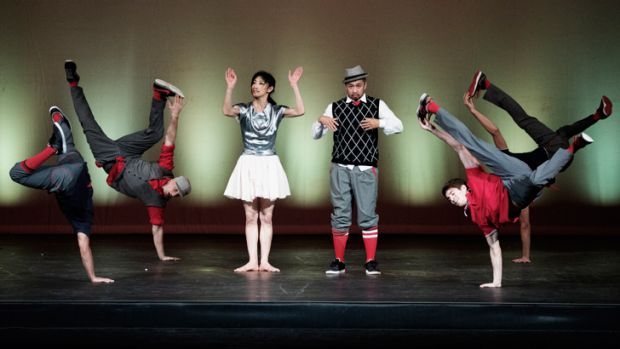 The old and the new: classical music meets break-dancing in <i>Flying Bach</i>.