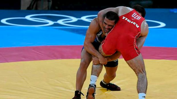 Wrestling was one of the few modern Olympic sports that was part of the ancient Games.