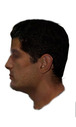 An image of the man police are looking for.