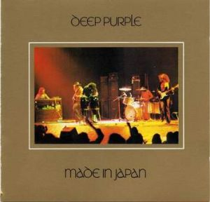 "Deep Purple ""Made in Japan"" album cover"