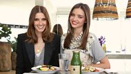 Miranda Kerr with Kate Waterhouse at Penthouse of the Pacific Bondi on 13th. February, 2013. Date with Kate. SHD photo: ...