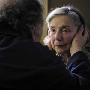 Beautiful and terrible … Jean-Louis Trintignant and Emmanuelle Riva play retired music teachers grappling with ...