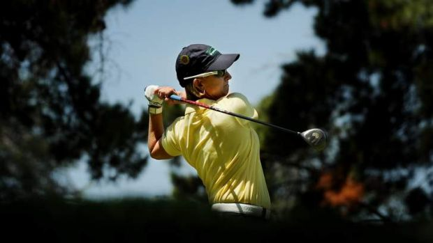 Karrie Webb during a pro-am at Royal Canberra Golf Club on Wednesday.