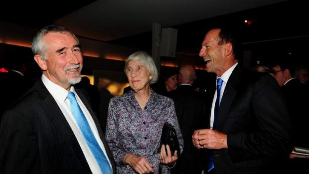 Gary Humphries has received strong praise from Heather Henderson and Tony Abbott.