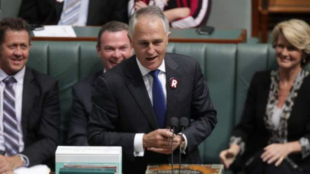 Shadow minister for communications and broadband Malcolm Turnbull.