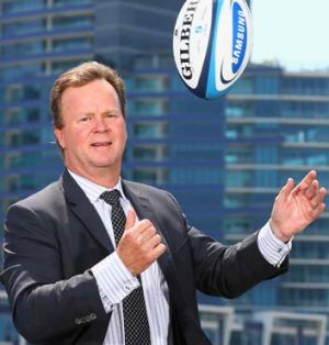 New ball game … ARU chief Bill Pulver.