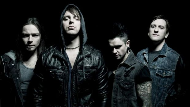 Pop apocalypse … Bullet for My Valentine blend melodic, catchy vocals with thrash metal technique.
