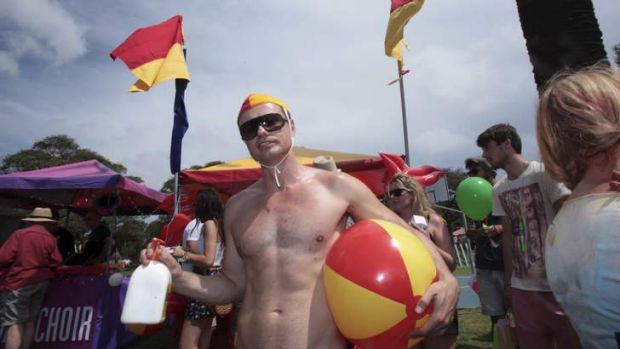 """A great result"" ... Sydney Gay and Lesbian Mardi Gras Fair day at Victoria park."