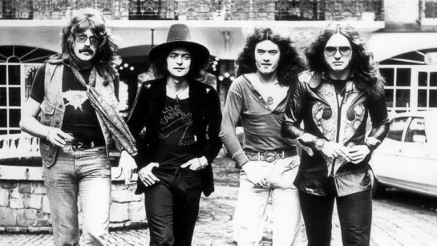 Still going strong ... Deep Purple in their 1970s heyday.