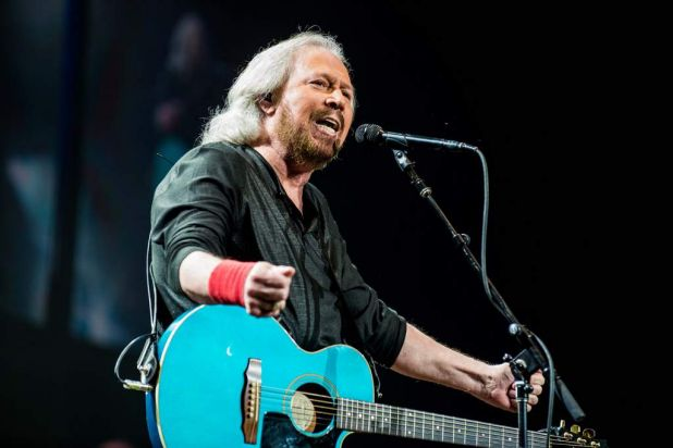 Barry Gibb.
