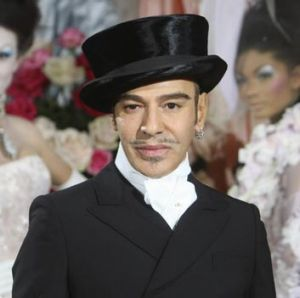 Disgraced designer, John Galliano in 2009.