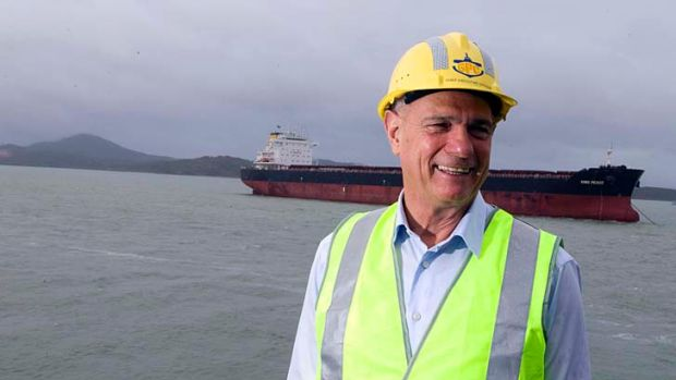 Leo Zussino is stepping down from his role as Gladstone Ports chief executive.