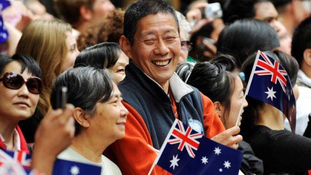 'Strolling along Swanston Street, the diversity is unmissable.'