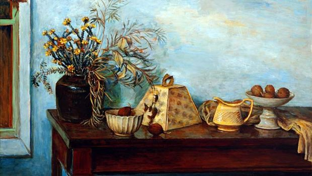 Fulfilment and satisfaction … Olley's Still life, objects on a table, c. 1976.