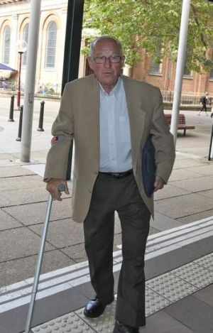 """""""Too old"""" ... Roger Rogerson at court on Thursday."""