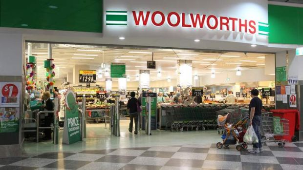 Under investigation ... Woolworths.
