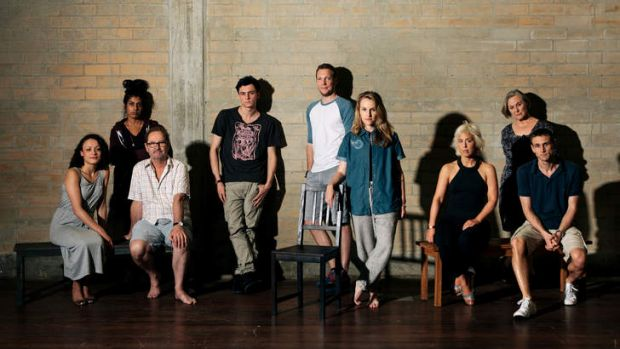 The cast of <i>Thursday</i>.