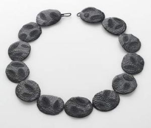Black Fossil necklace.