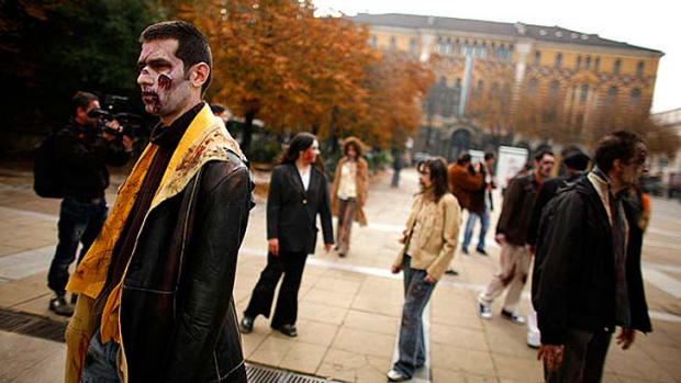 Hacked ... a real life zombie apocalypse?