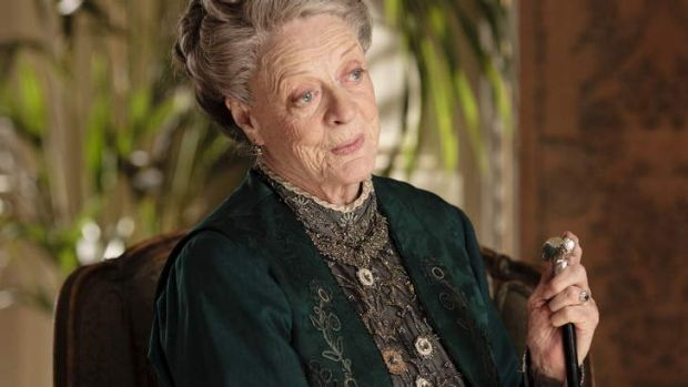 'Why did I do that?': Maggie Smith questions the need to watch <i>Downton Abbey</i>.