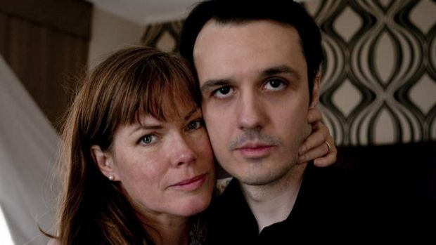 For the defence … Lorri Davis (left) campaigned for the release of Damien Echols (right).