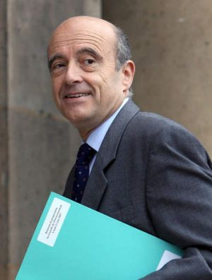 Alain Juppe ... the former foreign minister has thrown the cat among the pigeons.