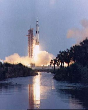So far, so good - the launch of Apollo 13 (NASA)