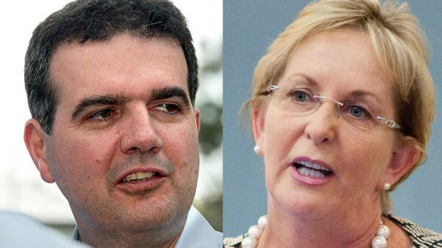 There have been two high profile job announcements by the LNP government. Michael Caltabiano has been sacked as ...