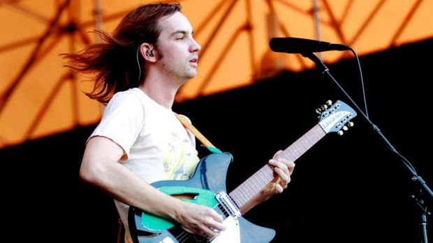 Kevin Parker from Tame Impala performs at <i>Homebake</i> last year.