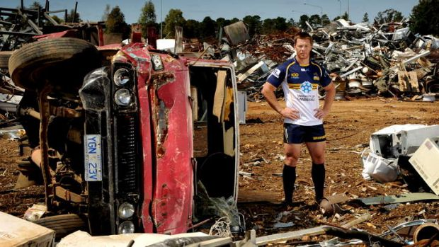 Brumbies winger Clyde Rathbone from the scrap heap and back to big time rugby, Rathbone is likely to be named in the ...