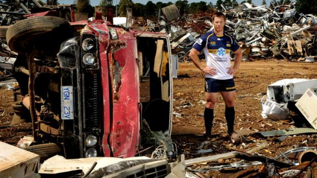Back from the scrap heap ... Brumbies winger Clyde Rathbone.