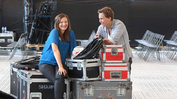 Close competition … Kate Wall and Rhys Wakefield have films in this year's Tropfest.