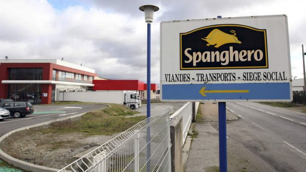 Horsemeat scandal ... the French government has suspended the licence of meat processing firm Spanghero.