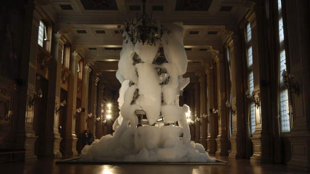 The NGV will host French artist Michel Blazy's installation <i>Bouquet Final 2</i>, a towering construction that will ...