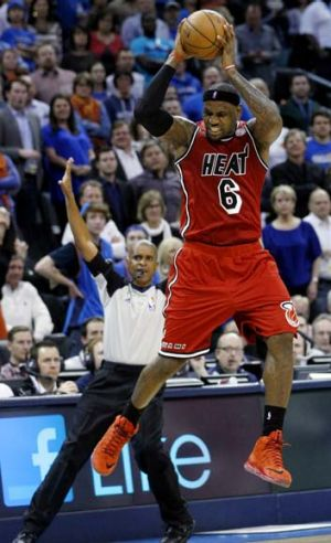 King pin … LeBron James has become a lethal jump shooter and is operating on a different plane to the rest of the ...
