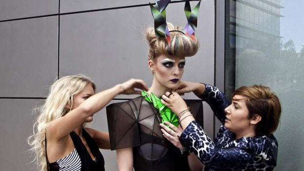 The <i>In The City</i> photoshoot has been billed as one of the most elaborate fashion shoots to hit the capital.