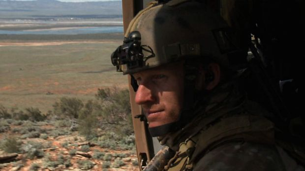 Portrait of Mark Donaldson VC 2011. Grab from HD video.